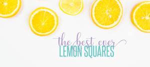 The Best Ever Lemon Squares